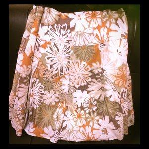 Mossimo Floral Skirt